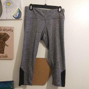 Charcoal Gray champion capris leggings